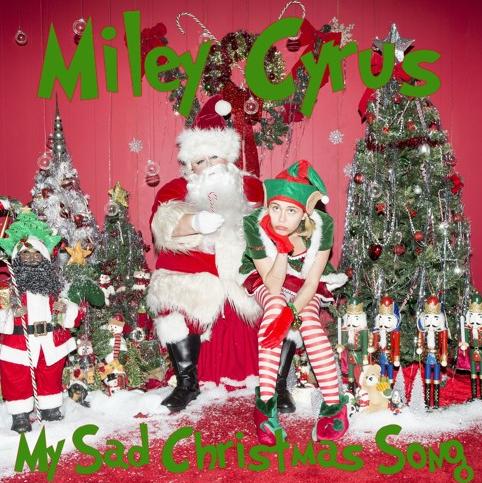 Buon Natale Del C Testo.Miley Cyrus My Sad Christmas E La Sua Nuova Canzone A Sorpresa Per