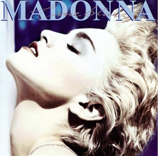 madonna true blue copertina